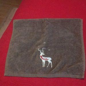 Other - Christmas reindeer hand towel 🎄